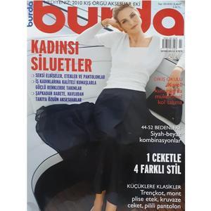 مجله burda آوريل 2010 به همراه الگو