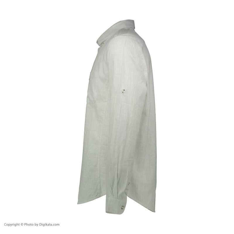 پیراهن آستین بلند مردانه کوتون مدل 8YAM62321KW -750