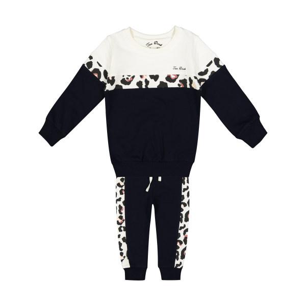 ست سویشرت و شلوار نوزادی دخترانه تودوک مدل 2151105-59