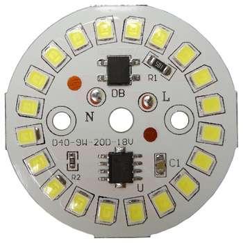 چیپ لامپ ال ای دی 9 وات مدل D409W20D18V
