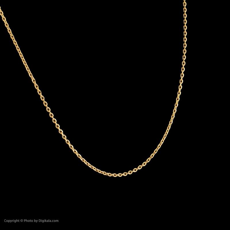 زنجیر طلا 18 عیار زنانه میو گلد مدل GD937