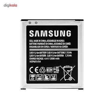 باتری موبایل مدل Galaxy Core Prime با ظرفیت 2000mAh مناسب برای گوشی موبایل سامسونگ Galaxy Core Prime