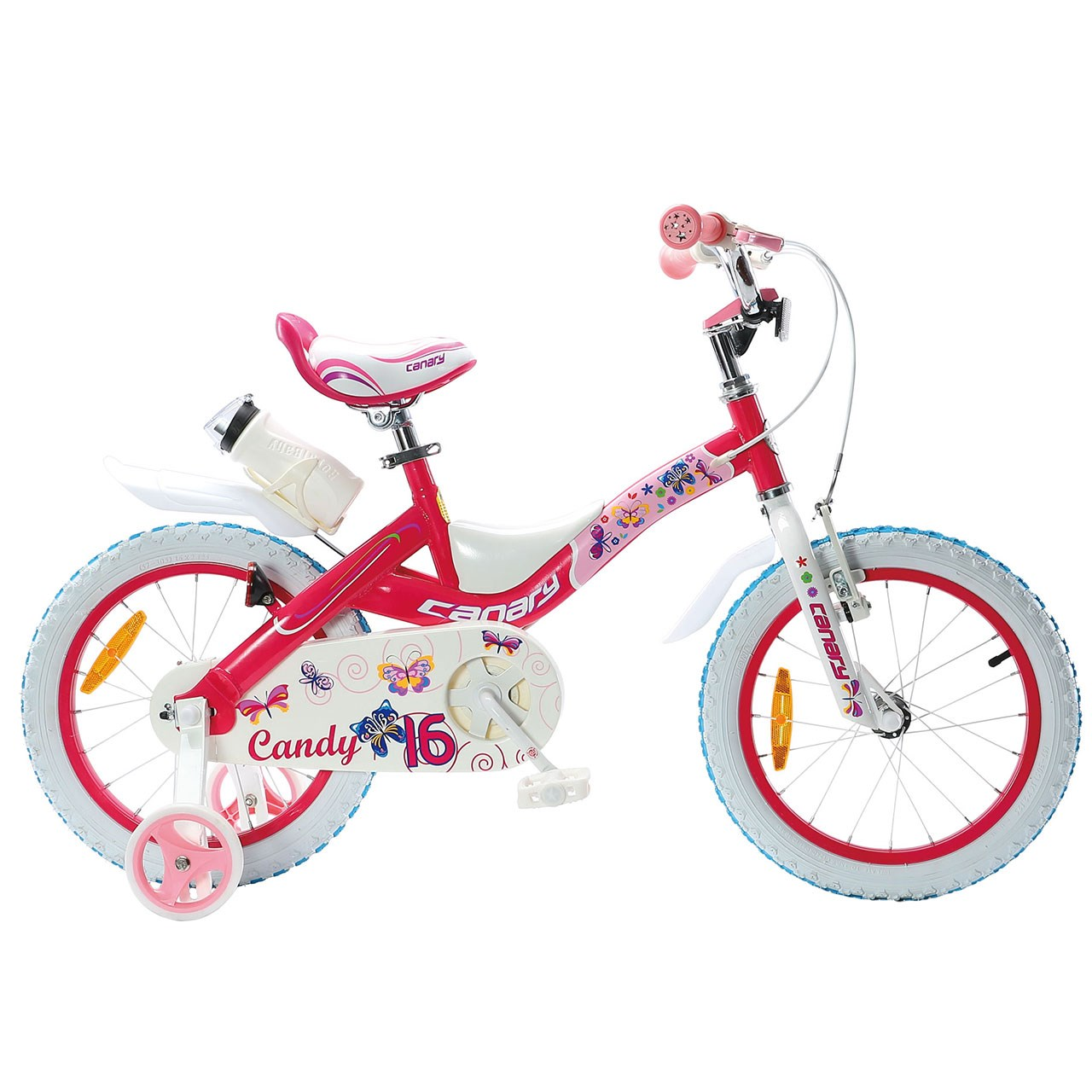دوچرخه شهری قناری مدل Candy سایز 16