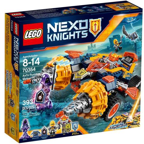 لگو سری  Nexo Knights مدل Axls Rumble Maker 70354