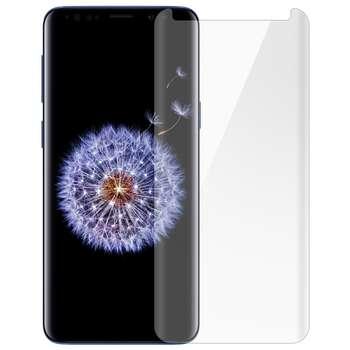 محافظ صفحه نمایش شیشه ای تمپرد مدل Full Cover مناسب برای گوشی موبایل سامسونگ Galaxy S9 Plus