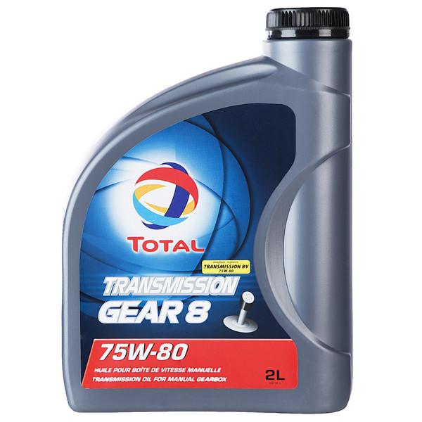 روغن گیربکس خودرو توتال مدل Gear 8 حجم 2 لیتر