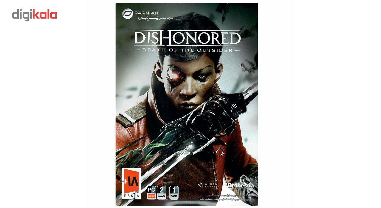 خرید اینترنتی بازی کامپیوتری Dishonored Death Of The Outsider مخصوص PC اورجینال