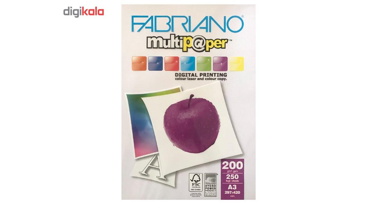 قیمت                      کاغذ فابریانو مدل G200 سایز A3 بسته 250 عددی