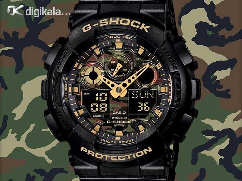 ساعت مچی مردانه کاسیو جی شاک GA-100CF-1A9DR             قیمت