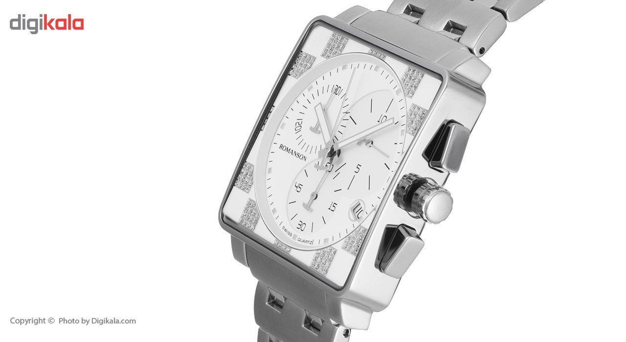 ساعت مچی عقربه ای مردانه رومانسون مدل TM9202HM1WA12W -  - 3