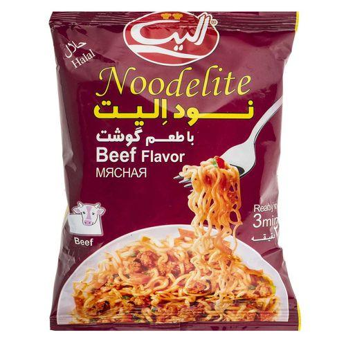 نودالیت با طعم گوشت الیت مقدار 75 گرم