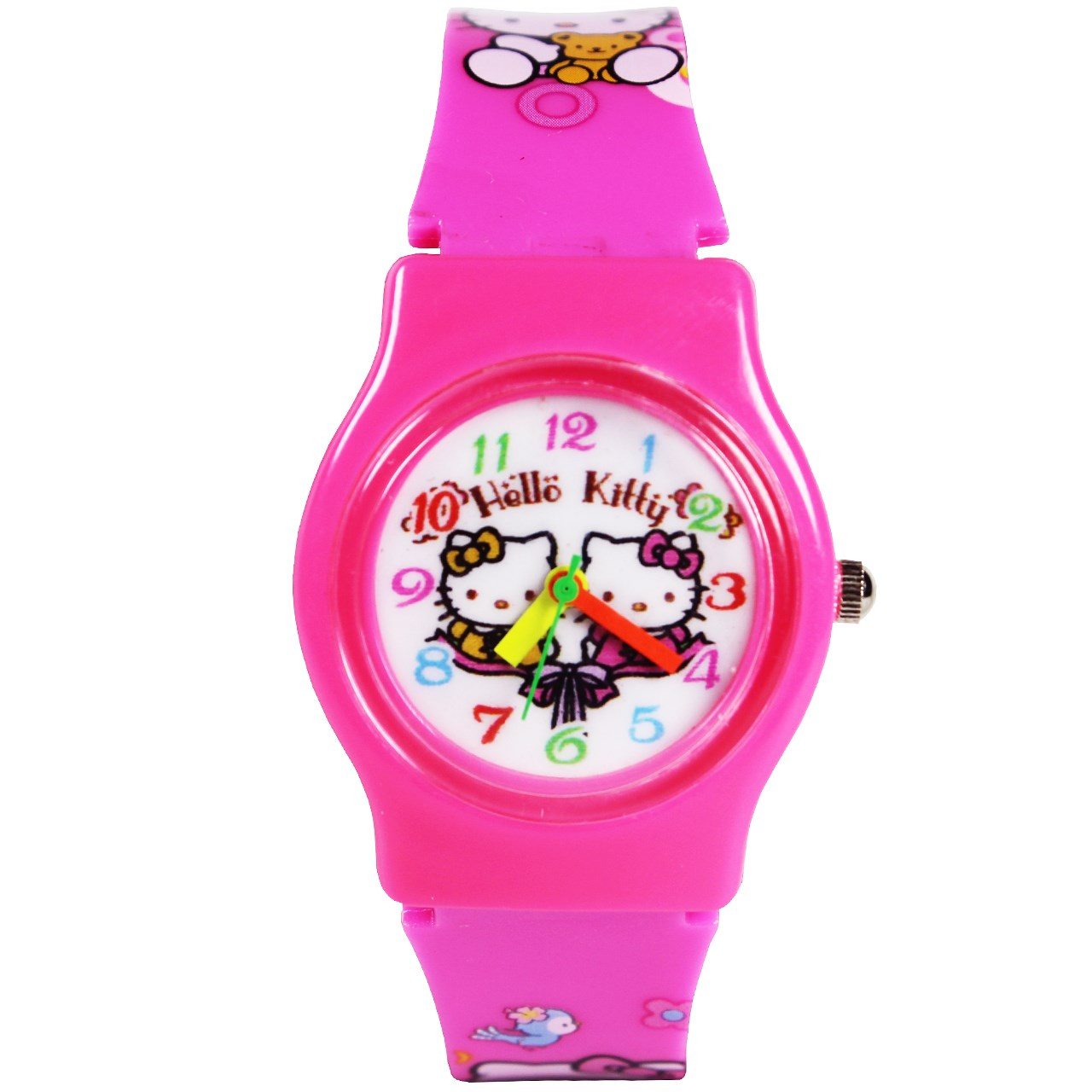 ساعت مچی عقربه ای بچگانه مدل K-07 دخترانه 47