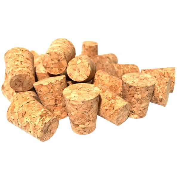 درب بطری چوب پنبه ترکیبی مدل 18-24 - بسته 10 عددی
