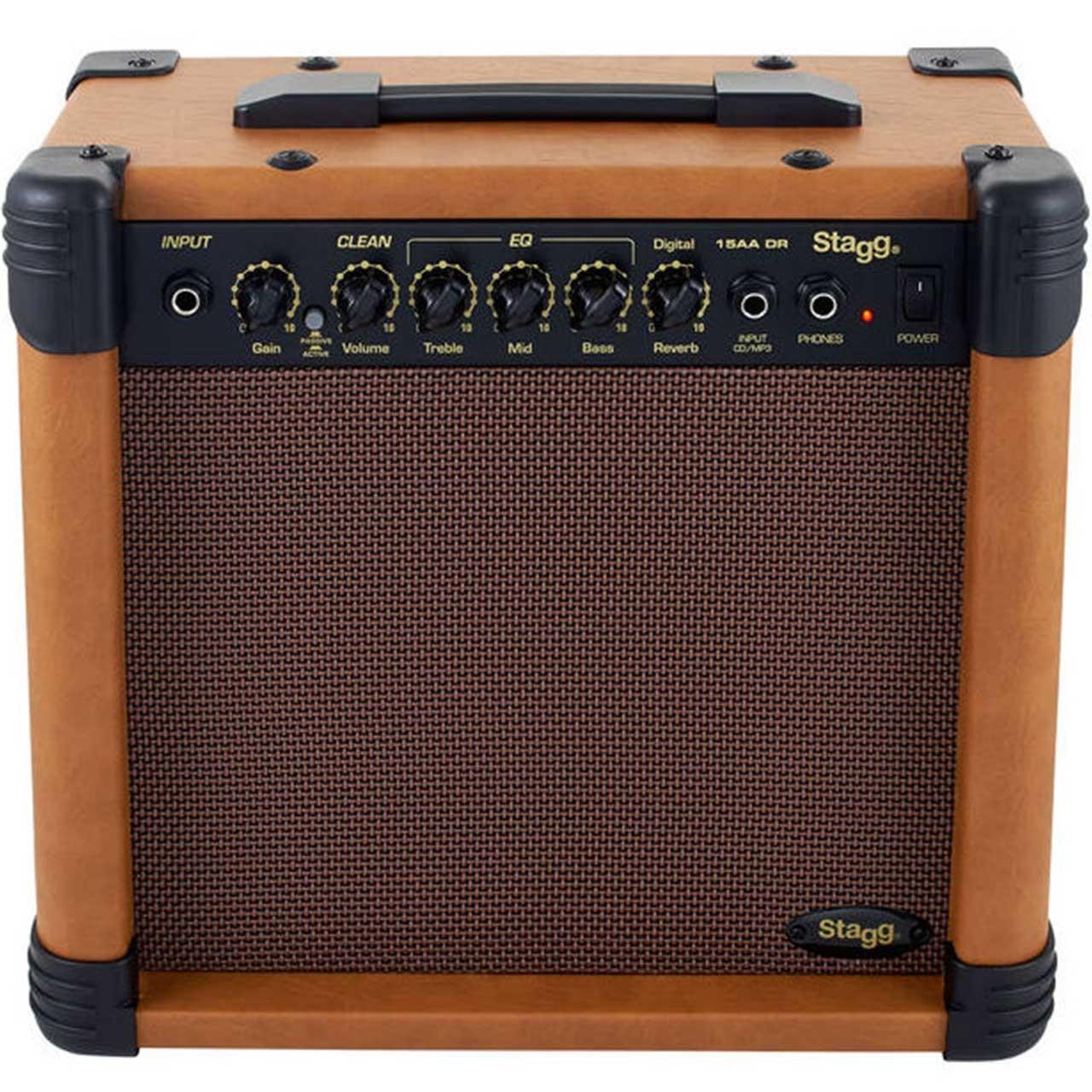 آمپلی فایر گیتار آکوستیک استگ مدل 15 AA DR