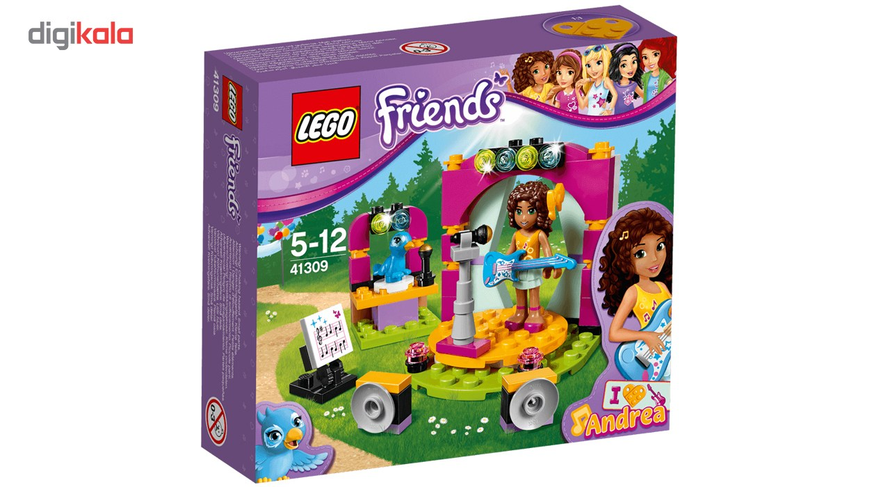 لگو سری Friends مدل Andreas Musical Duet 41309
