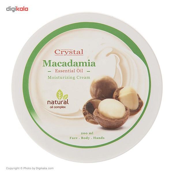 کرم مرطوب کننده کریستال مدل Macadamia حجم 200 میلی لیتر