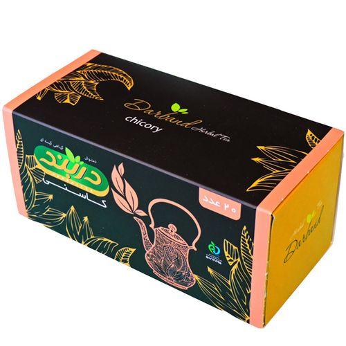 بسته دمنوش گیاهی کاسنی  دربند مدل  بسته 40 عددی Chicory