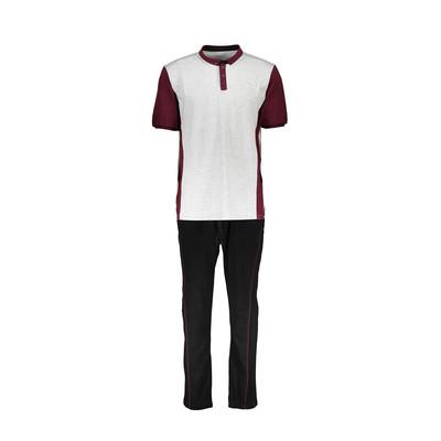 ست پلو شرت و شلوار  مردانه رویین تن پوش مدل 698