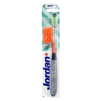 مسواک جردن مدل Individual Clean با برس نرم به همراه درپوش