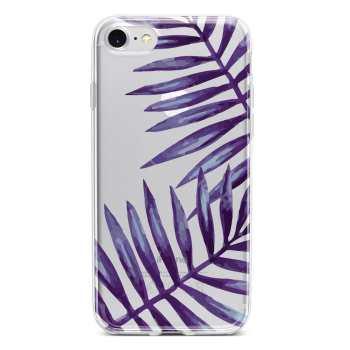 کاور  ژله ای مدل  Purple  مناسب برای گوشی موبایل آیفون 7 و 8