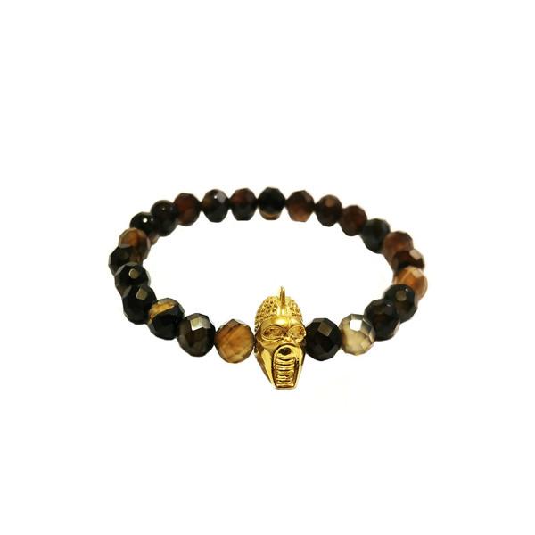 دستبند آدرینا گالری طرح عقیق سلیمانی کد BM1055