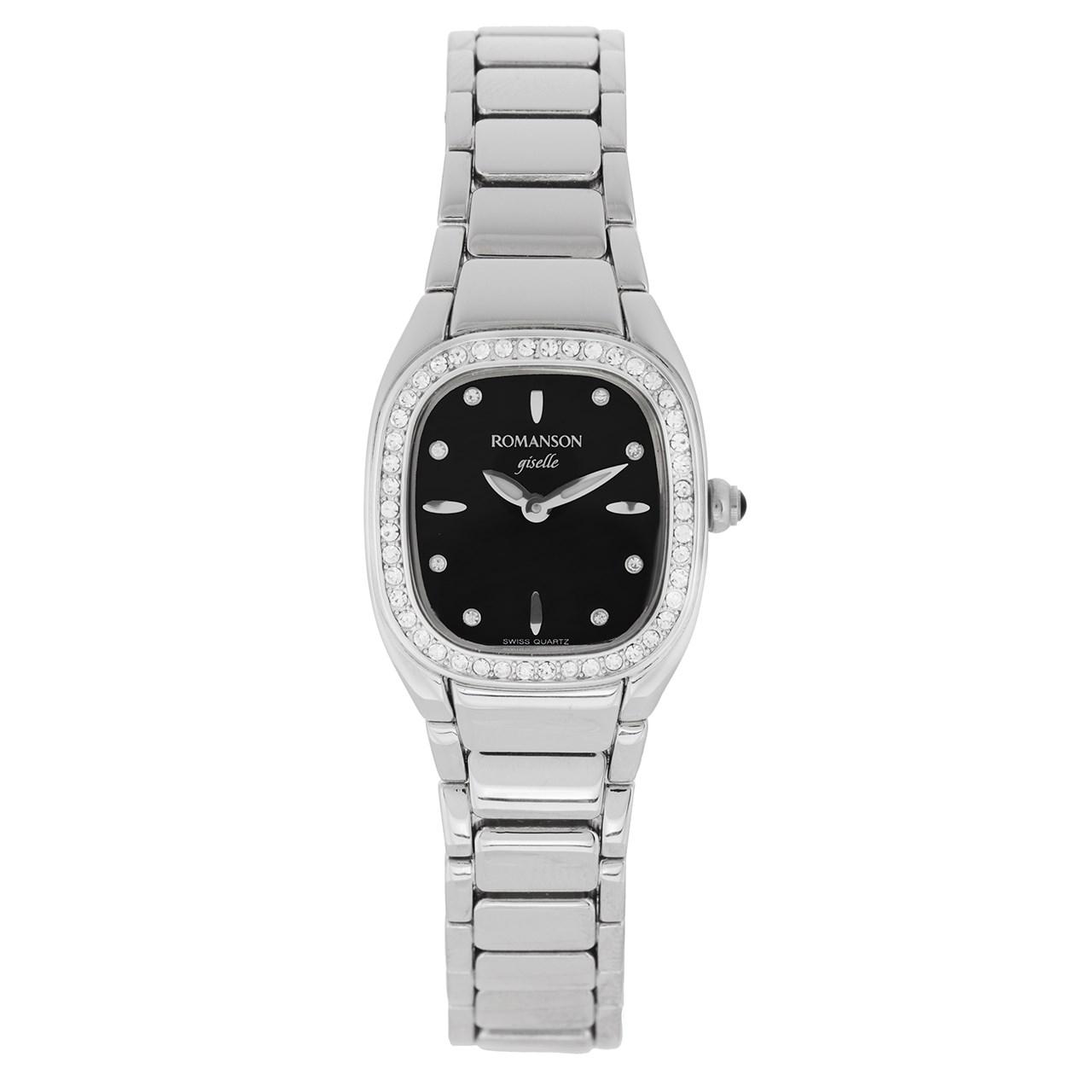 ساعت مچی عقربه ای مردانه رومانسون مدل RM8256TL1WM32W 12