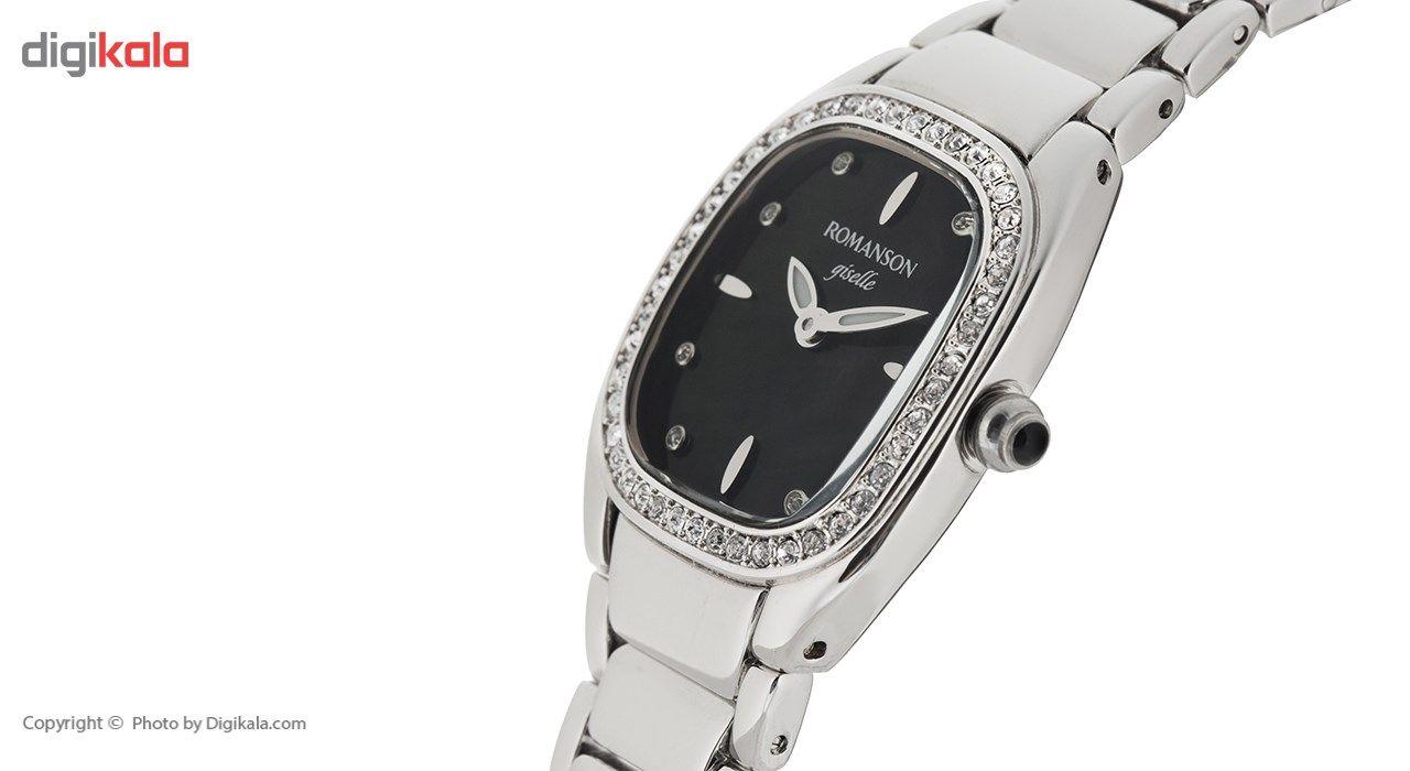 ساعت مچی عقربه ای مردانه رومانسون مدل RM8256TL1WM32W -  - 4