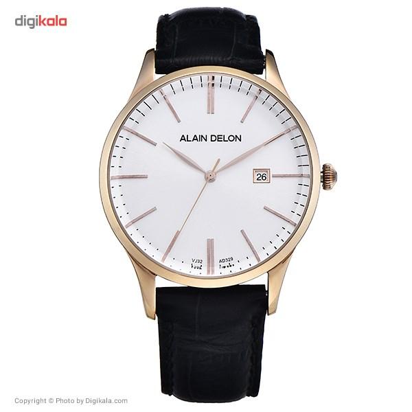 خرید ساعت مچی عقربه ای مردانه آلن دلون مدل AD329-1519