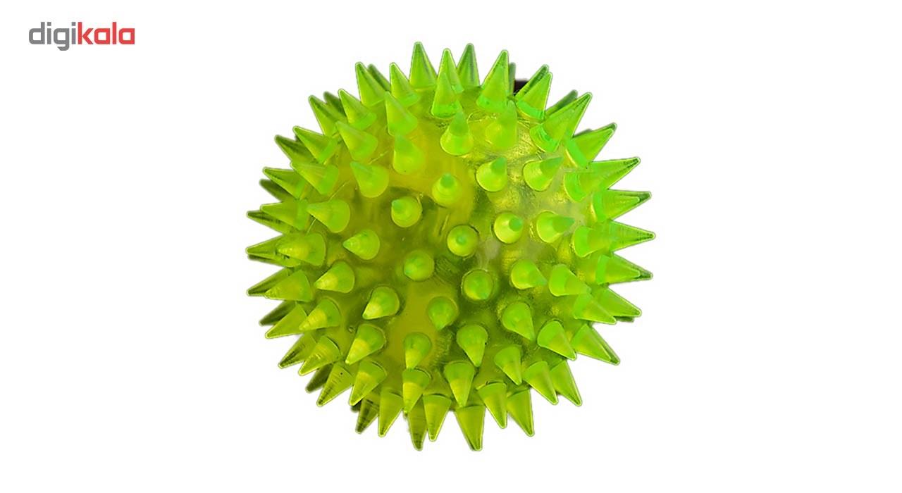 اسباب بازی سگ توپ مدل Latex Dog Ball