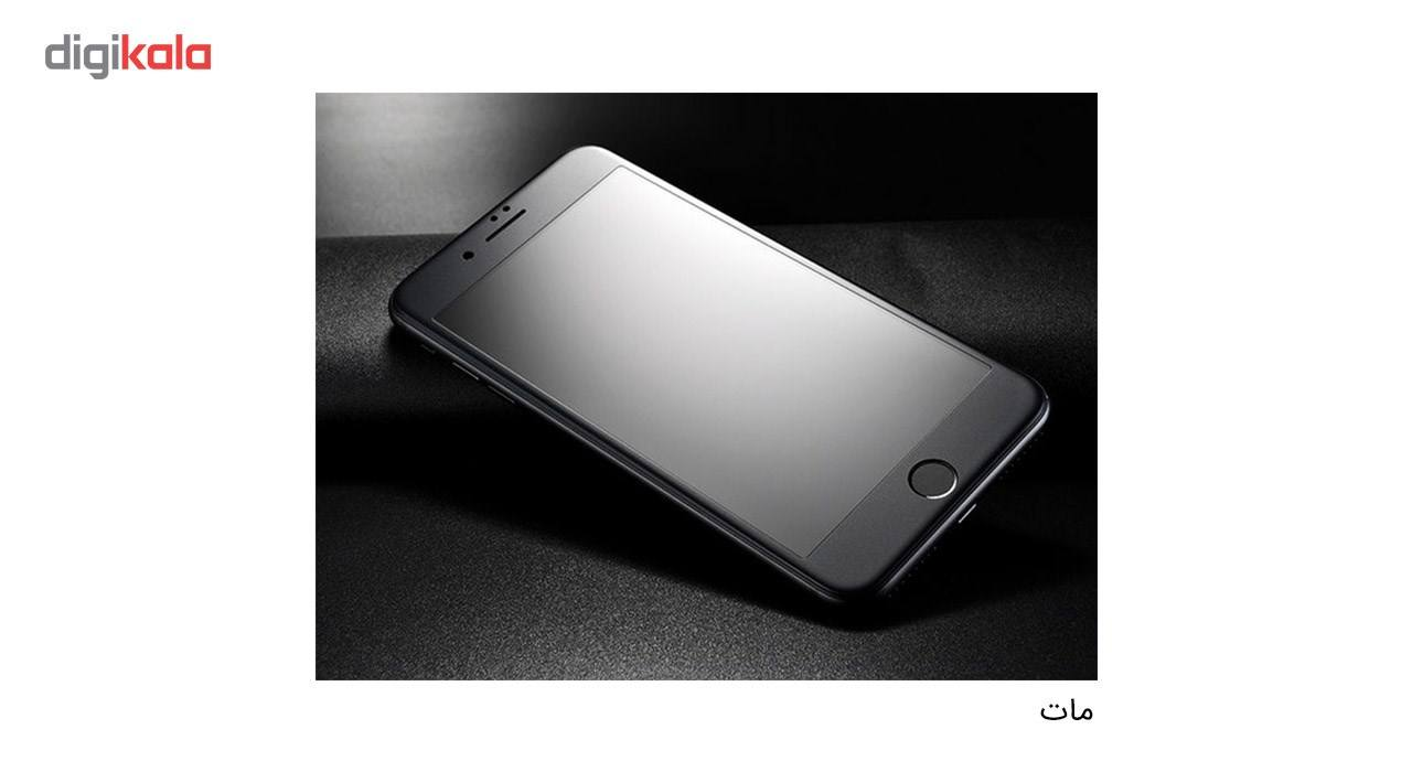 محافظ صفحه نمایش شیشه ای کوالا مدل Full Cover مناسب برای گوشی موبایل اپل آیفون 7 به همراه محافظ پشت Tempered main 1 3