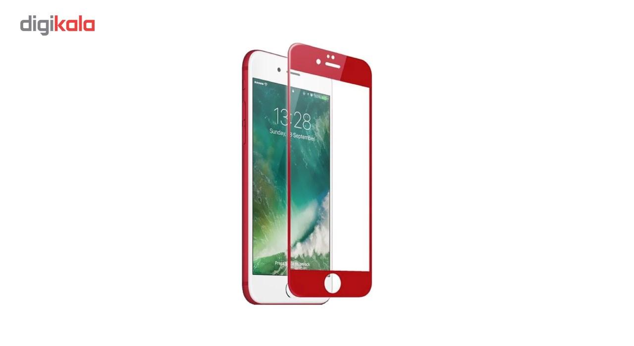 محافظ صفحه نمایش شیشه ای کوالا مدل Full Cover مناسب برای گوشی موبایل اپل آیفون 7 به همراه محافظ پشت Tempered main 1 5