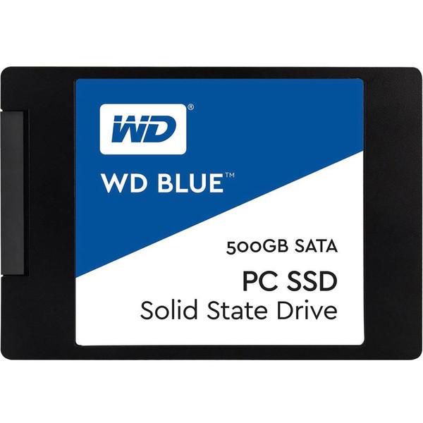 حافظه SSD وسترن دیجیتال مدل BLUE WDS500G1B0A ظرفیت 500 گیگابایت