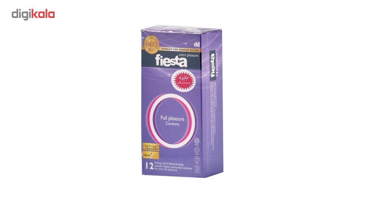 کاندوم نهایت لذت فیستا مدل Full Plesasure بسته 12 عددی main 1 1