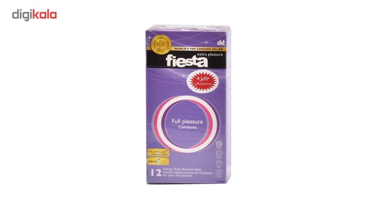 کاندوم نهایت لذت فیستا مدل Full Plesasure بسته 12 عددی main 1 2
