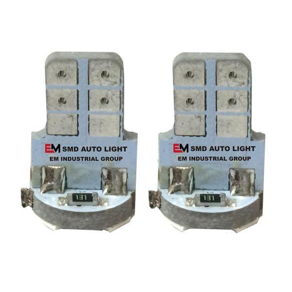 لامپ5 اس ام دی یخی خودرو ای ام بسته 2 عددی