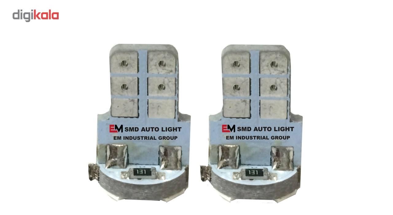 لامپ5 اس ام دی یخی خودرو ای ام بسته 2 عددی main 1 1