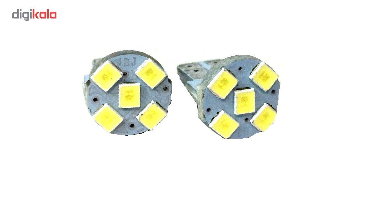 لامپ5 اس ام دی یخی خودرو ای ام بسته 2 عددی main 1 2