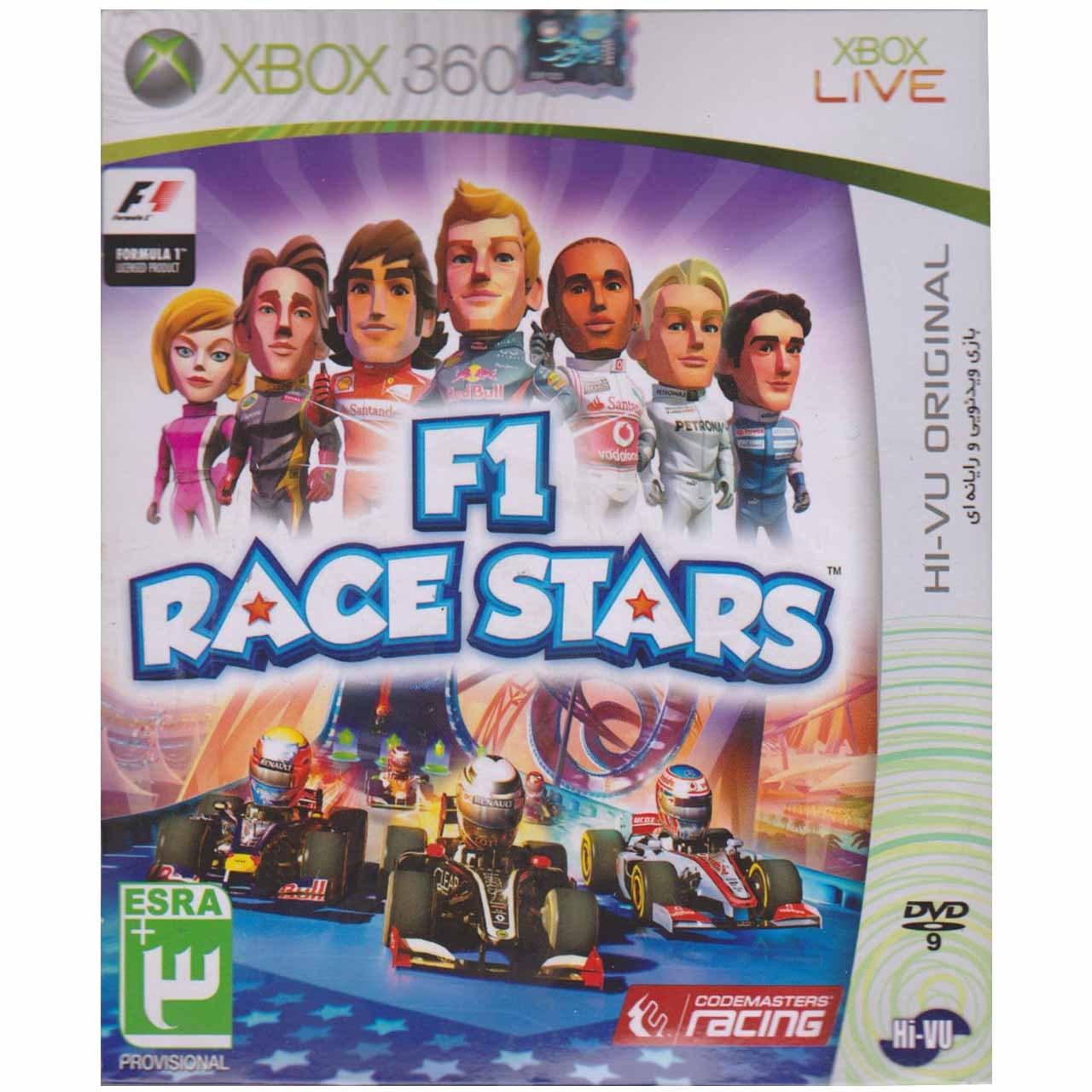 بازیِ F1 Race Stars  مخصوص ایکس باکس 360
