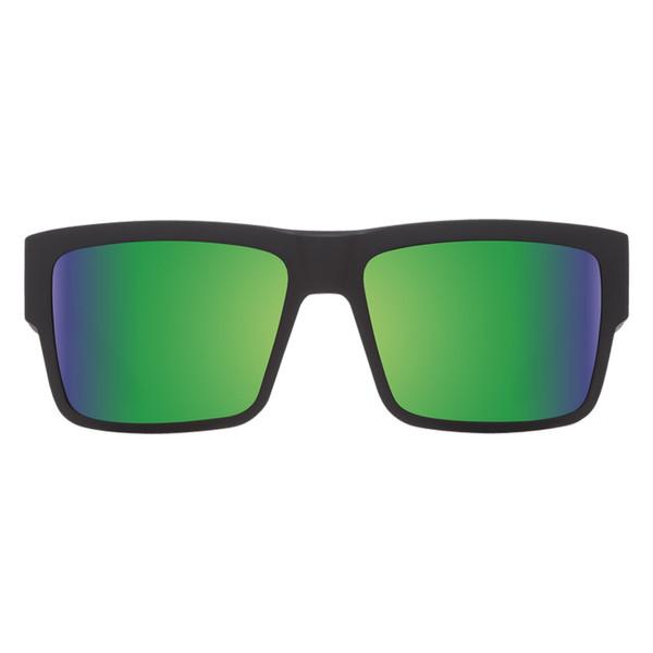 عینک آفتابی اسپای سری Cyrus مدل Matte Black Happy Bronze Polar Green Spectra