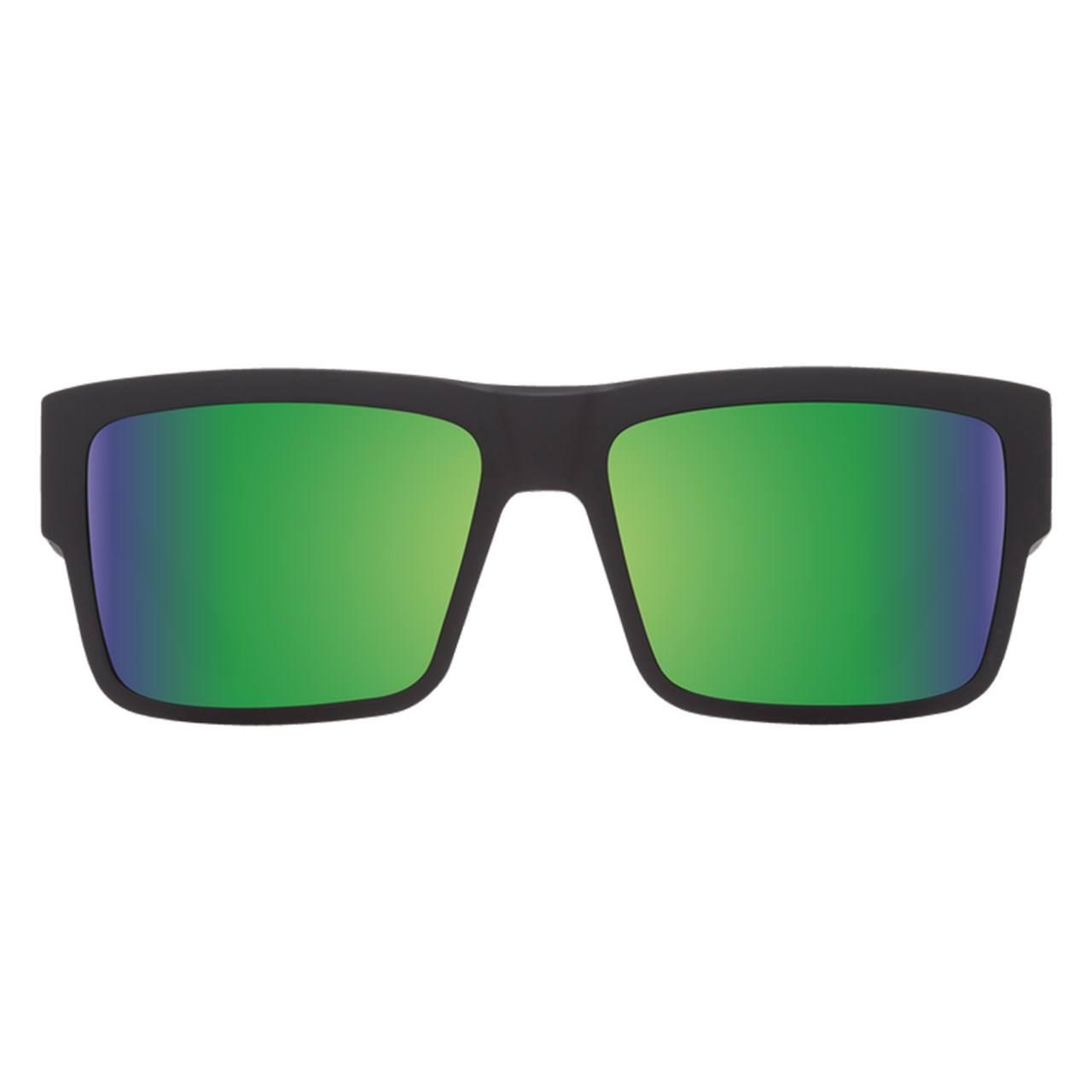 عینک آفتابی اسپای سری Cyrus مدل Matte Black Happy Bronze Polar Green Spectra -  - 1