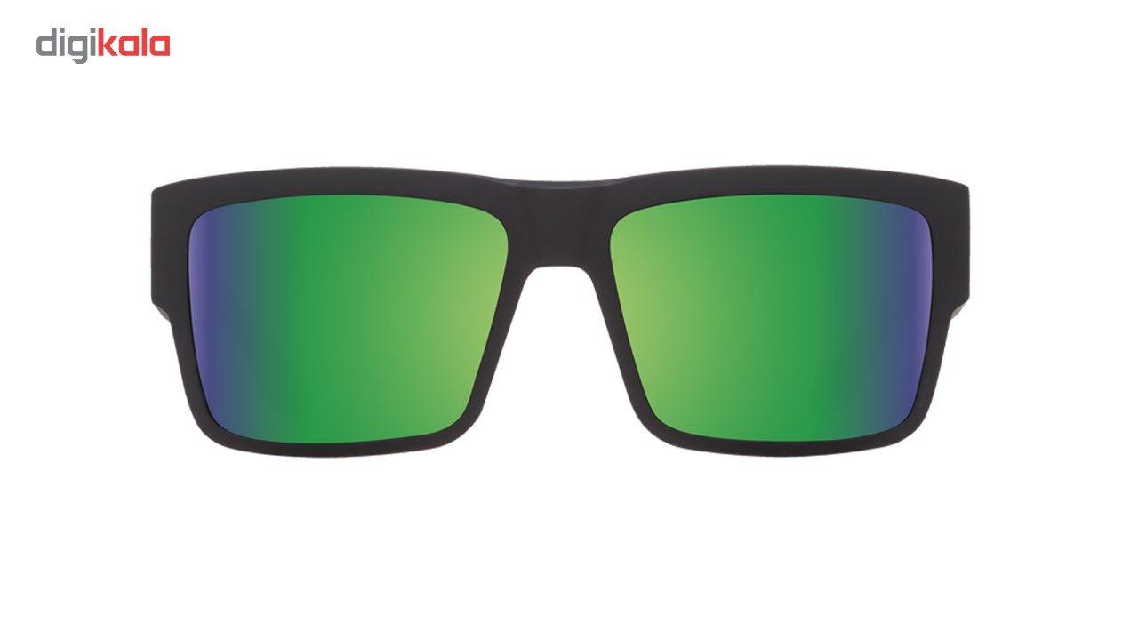 عینک آفتابی اسپای سری Cyrus مدل Matte Black Happy Bronze Polar Green Spectra -  - 2