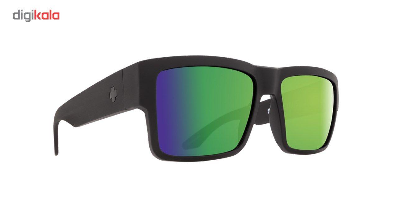 عینک آفتابی اسپای سری Cyrus مدل Matte Black Happy Bronze Polar Green Spectra -  - 4