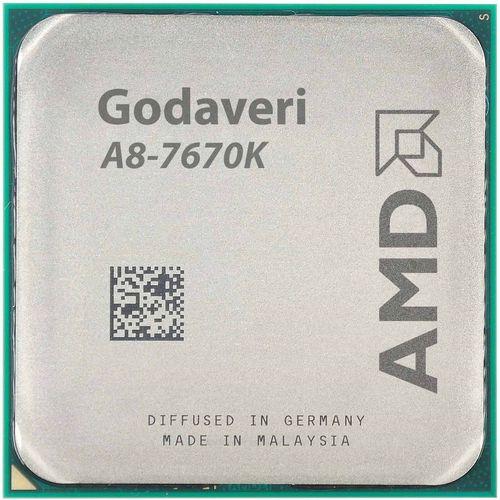 پردازنده مرکزی ای ام دی مدل Godavari A8-7670K