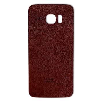 برچسب پوششی ماهوت مدلNatural Leather مناسب برای گوشی  Samsung S7 Edge