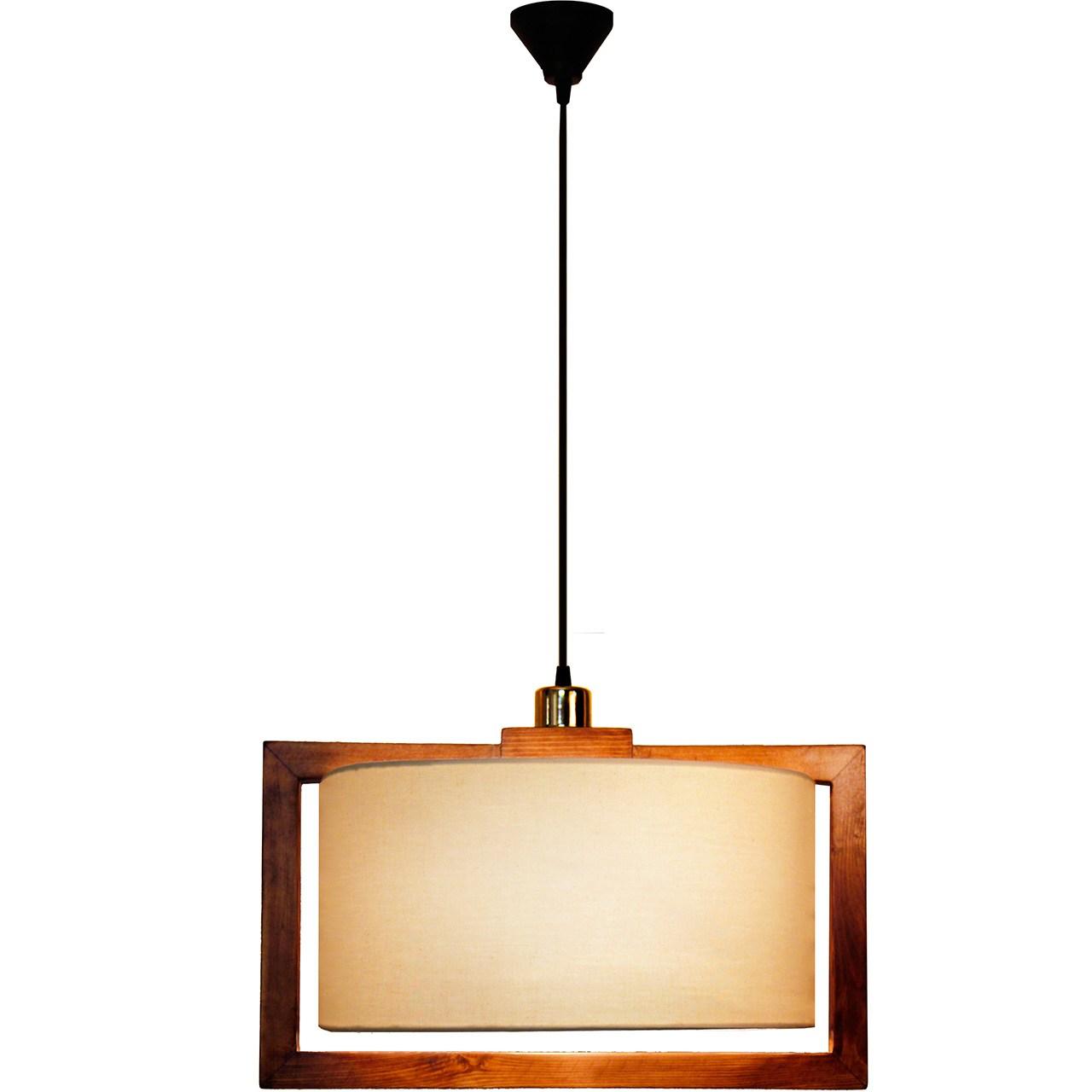 چراغ آویز مسینا مدل V1