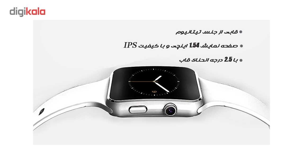 ساعت هوشمند مدل x6 main 1 7