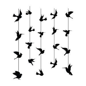 استیکر سالسو طرح black birdy