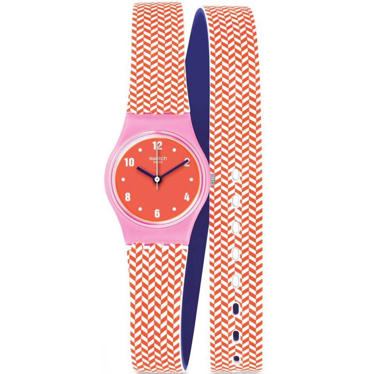 ساعت مچی عقربه ای زنانه سواچ مدل LP141 17