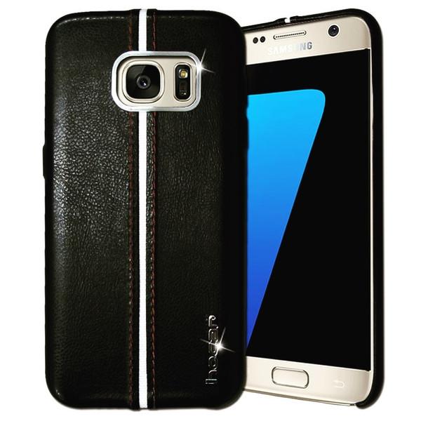 کاور محافظ چرمی هوکار مدل Sport مناسب برای گوشی سامسونگ Galaxy S7