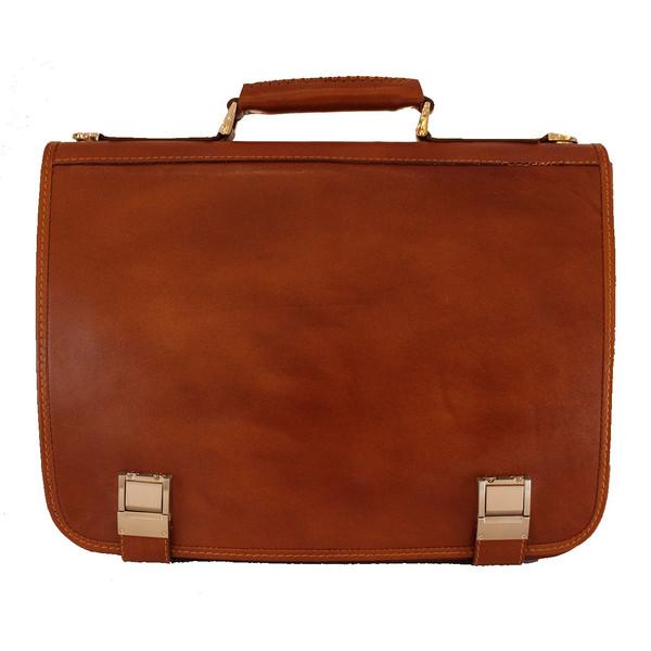 کیف اداری چرم طبیعی چرم خاطره کد109